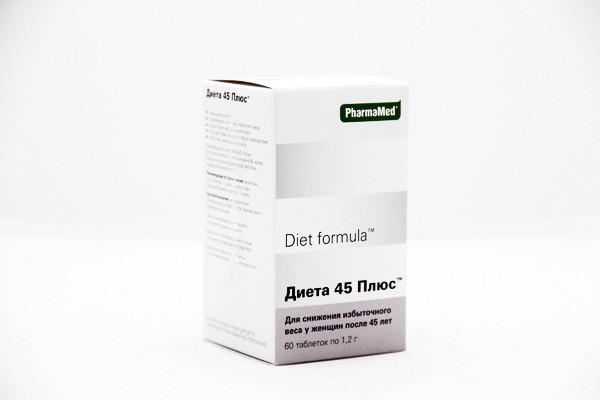 Диет формула снижение веса после 45 лет 60 таблеток: продажа, цена ...