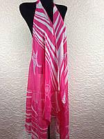 Пляжная нежно-розовая накидка на купальник без рукавов (цв.27)