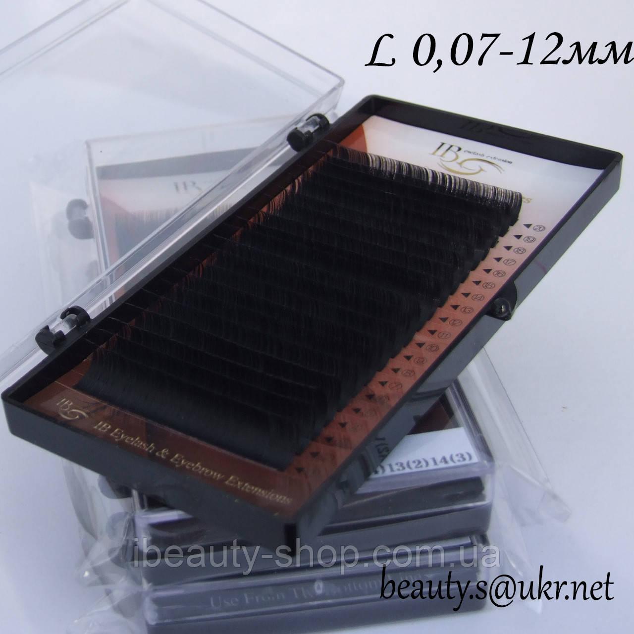 Ресницы  I-Beauty на ленте L-0,07 12мм