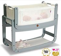 Приставная кроватка люлька для новорожденных (цвет Dove Grey), Snuz Pod