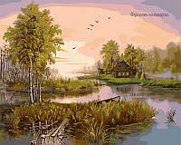 Картина по номерам Babylon Лесное озеро VP185 40 х 50 см, фото 1