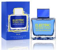 Мужская туалетная вода Antonio Banderas Electric Seduction Blue (Антонио Бандерас Электрик Седакшн Блю), фото 1