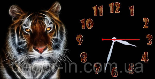Часы настенные N 15 40х60 для кухни, гостиной, детской, спальни. Подарок