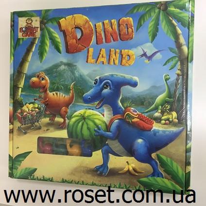 Детская настольная игра (квест с динозаврами) «Dino Land»