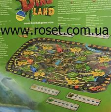 Детская настольная игра (квест с динозаврами) «Dino Land», фото 3