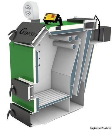 Гефест-профи 800U тердотопливный котел длительного горения 800 кВт, фото 2