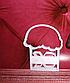 Вырубка кондитерская пасхальная кулич пасха разм 8 см, фото 4