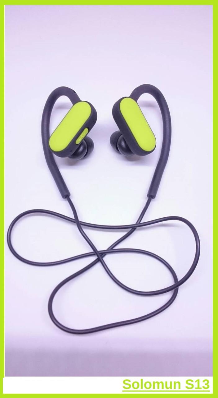 Беспроводные Bluetooth (блютуз) наушники вакуумные Solomun S13