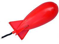 Ракета закормочная Spomb Красная - Копия (Mini)