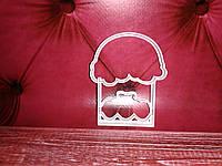 Вырубка кондитерская пасхальная кулич пасха разм 10 см