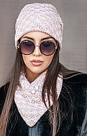 Молодежный комплект шапка и хомут