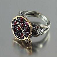 """Оригинальное кольцо  """"Гранат"""", размеры  20 от студии  LadyStyle.Biz, фото 1"""