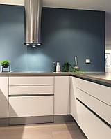 Кухня на заказ белая в стиле минимализм Blum furniture , фото 1