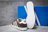 Кроссовки мужские Adidas Gazelle, коричневые (14132) размеры в наличии ► [  41 43  ], фото 4