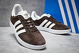 Кроссовки мужские Adidas Gazelle, коричневые (14132) размеры в наличии ► [  41 43  ], фото 5