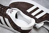 Кроссовки мужские Adidas Gazelle, коричневые (14132) размеры в наличии ► [  41 43  ], фото 6