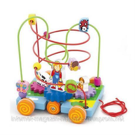 Лабиринт Машинка Viga Toys