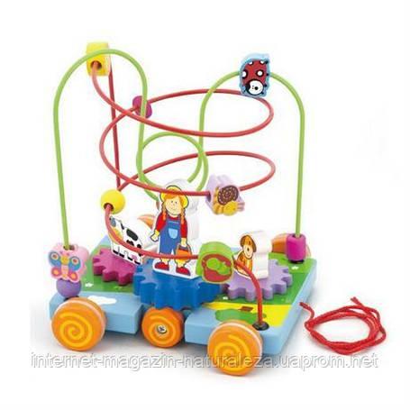 Лабиринт Машинка Viga Toys, фото 2