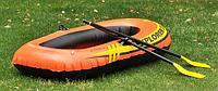 Надувная лодка гребная explorer intex 185-94-41 см, фото 1