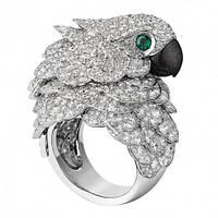 """Оригинальное кольцо  """"Какаду"""", размеры 18, 19 от студии  LadyStyle.Biz, фото 1"""