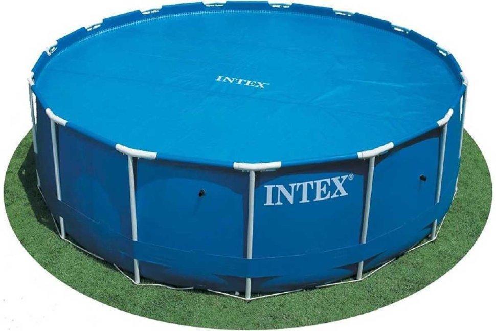 Тент солнечный прозрачный для бассейнов (305 см) intex