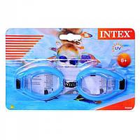 Детские очки для плавания intex, фото 1