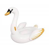 Надувной плотик intex «лебедь» 169х169 см, фото 1
