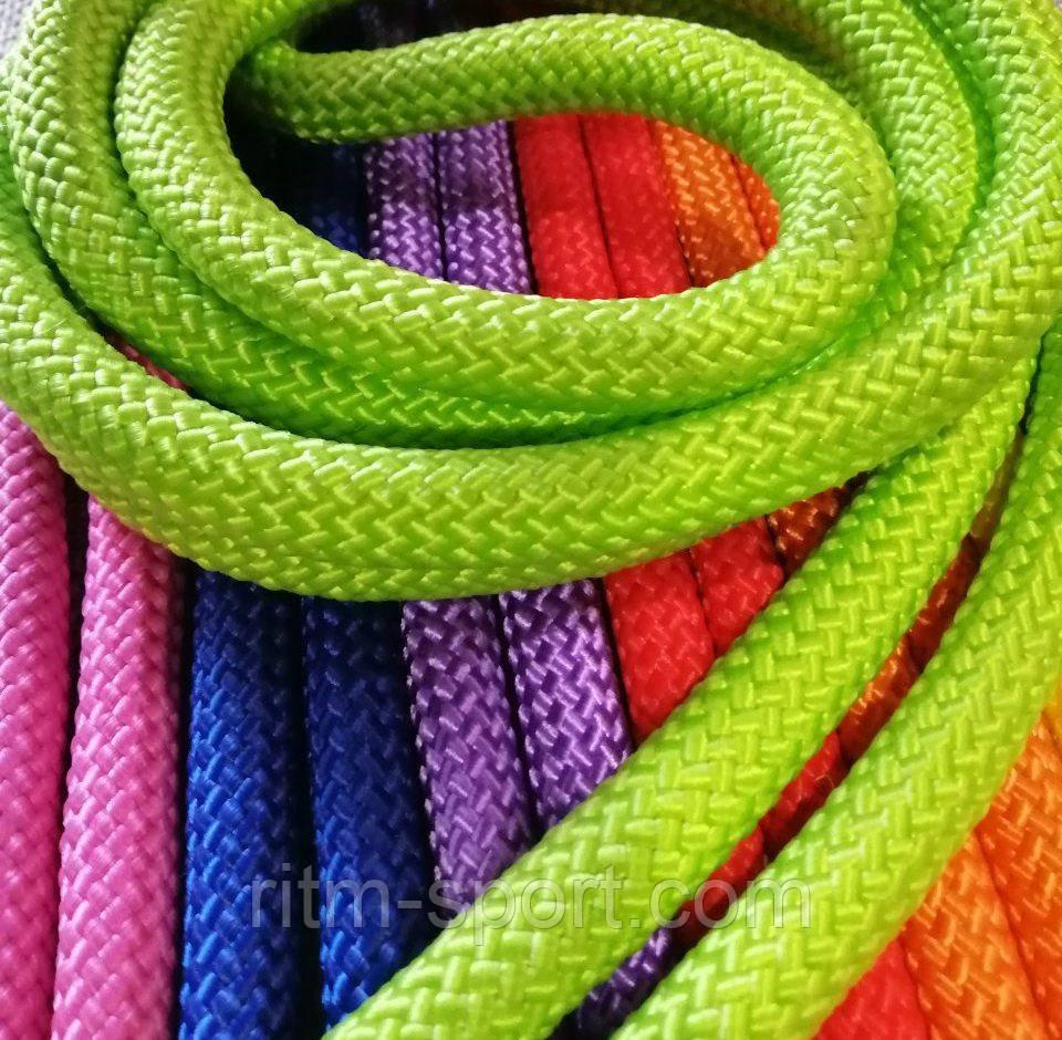 Скакалка для художественной гимнастики диаметр 12 мм (цвета в ассортименте Украина)