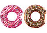 Стильный надувной круг пончик, 107 см, фото 2