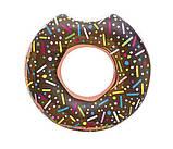 Стильный надувной круг пончик, 107 см, фото 3