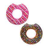 Стильный надувной круг пончик, 107 см, фото 5