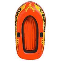Кочественная лодка надувная Intex 185-94-41 см, фото 1