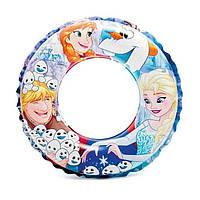 Детский надувной круг для плавания Холодное сердце Intex, 51 см