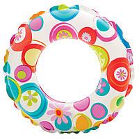 Надувной круг intex (для детей, диаметр 51см), фото 1