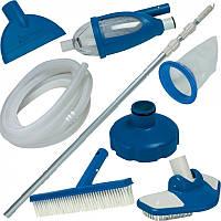 Полный набор инструментов для чистки бассейна от компании Intex