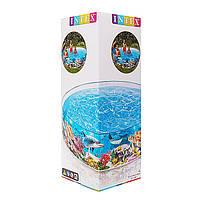 Каркасный бассейн - утиный риф, 122 х 25 см от intex, фото 1
