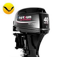 Лодочный мотор Parsun T40 FWS. 2-х тактный. 40л/с; (Мотор для лодки Парсун 40);