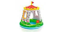 Детский надувной бассейн intex «королевский замок» 122х122 см, фото 1