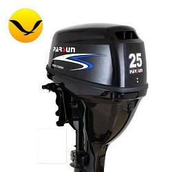 Лодочный мотор Parsun F25 FWS. 4-х тактный. 25л/с; (Мотор для лодки Парсун 25);