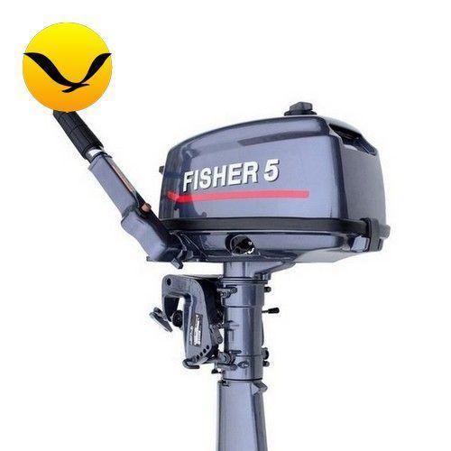 Лодочный мотор Fisher Т5 (Фишер 5). Двухтактный;