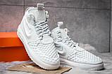 Кроссовки мужские Nike LF1 Duckboot, белые (14795) размеры в наличии ► [  43 44 45  ], фото 3