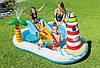 """Детский надувной бассейн   """"Весёлая рыбалка"""" 218 x 188 x 99 см"""