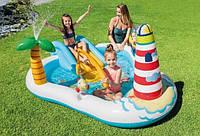 """Детский надувной бассейн   """"Весёлая рыбалка"""" 218 x 188 x 99 см, фото 1"""
