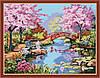 Набор для рисования Идейка Японский сад KH190
