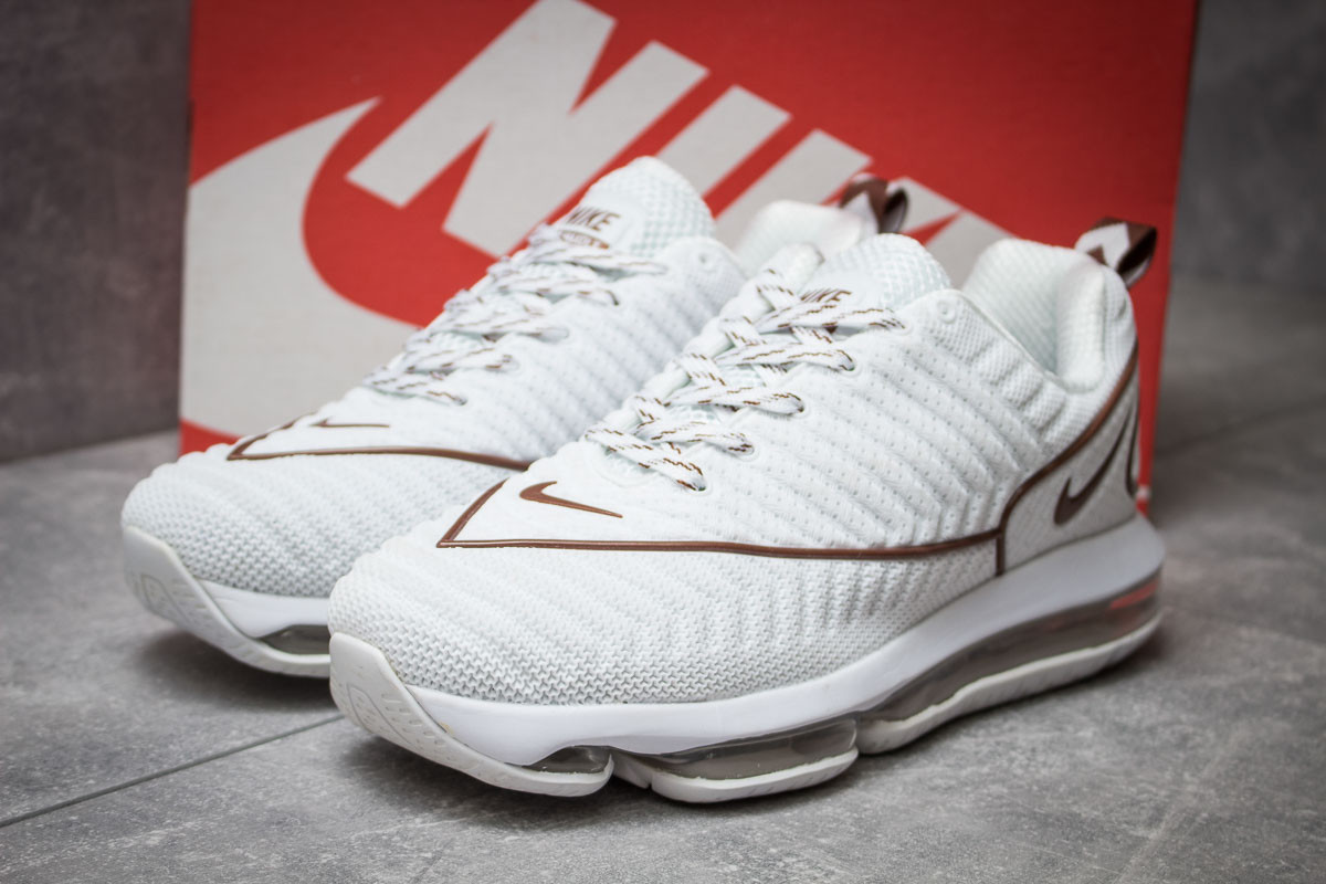 6c7029de Кроссовки Мужские Nike Air Max, Белые (14054), [ 42 43 ] — в ...