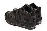 Кроссовки мужские Nike Air Uptempo, черные (15211) размеры в наличии ► [  42 43 45  ], фото 8