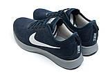 Кроссовки мужские Nike  Free Run 4.0 V2, темно-синие (11953) размеры в наличии ► [  41 44  ], фото 8
