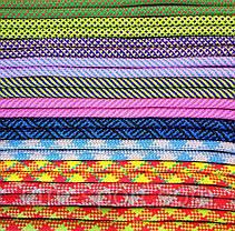 Скакалка мотузкові 3 м (Рожевий/Блакитний), фото 3