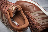 Кроссовки мужские Adidas  Haven, коричневые (12013) размеры в наличии ► [  44 46  ], фото 6