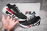 Кроссовки женские  Fila Mino One, черные (13671) размеры в наличии ► [  36 37,5 38 40  ], фото 2
